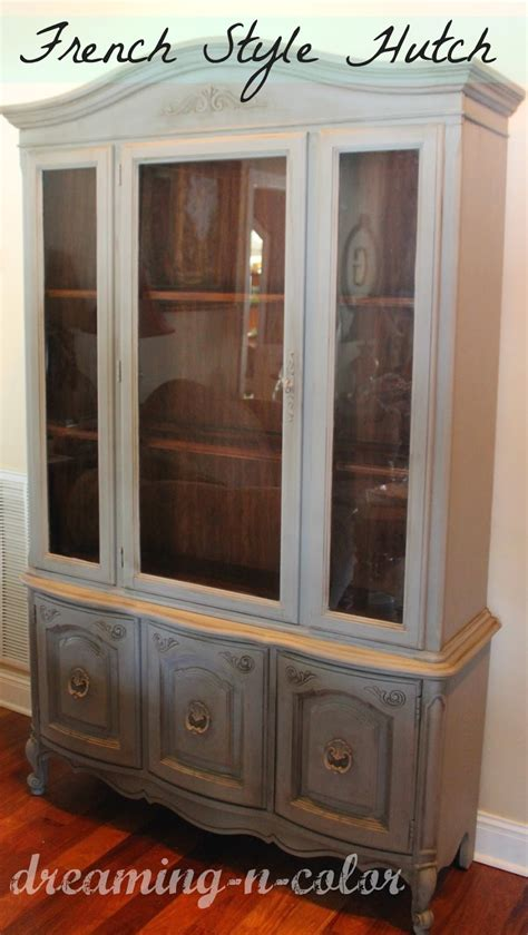 dreamingincolor grey hutch french style