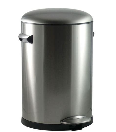 poubelle cuisine pedale poubelle de cuisine à pédale vintage 20l wadiga com