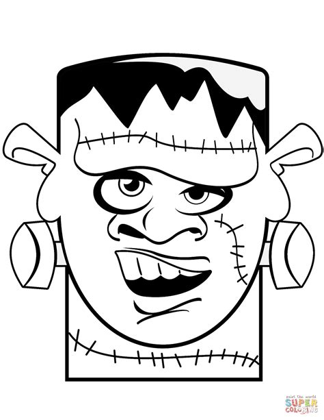 frankenstein coloring pages frankenstein coloring page free printable coloring