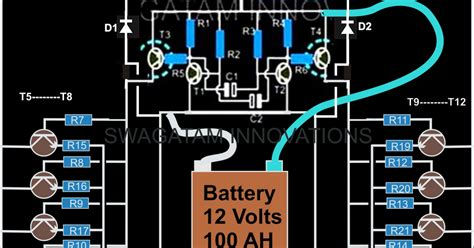 Circuit Diagram Of 600va Inverter by How To Make A Simple 200 Va Power Inverter