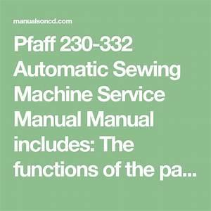 Pfaff 230