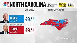 North Carolina Is Extremely Close With Only A 1 369
