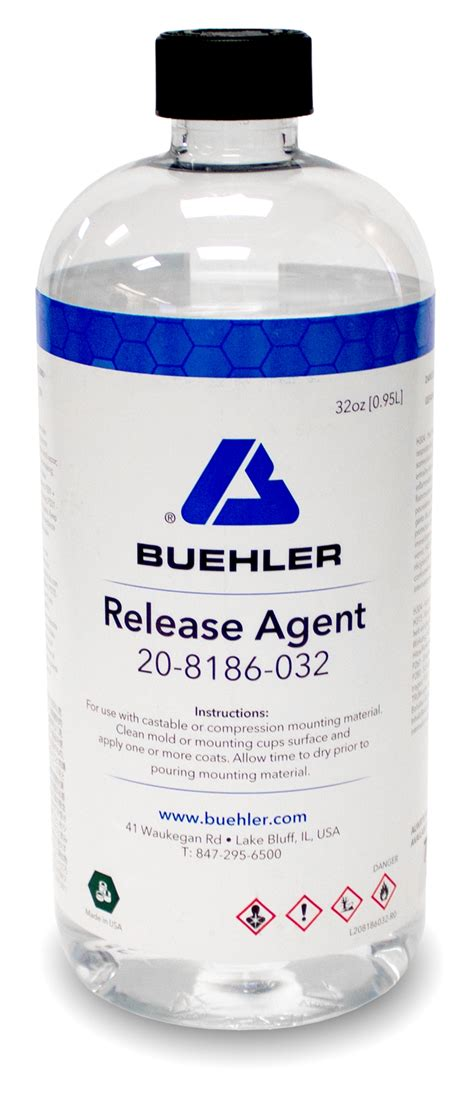 Release Agent, 32oz   Buehler
