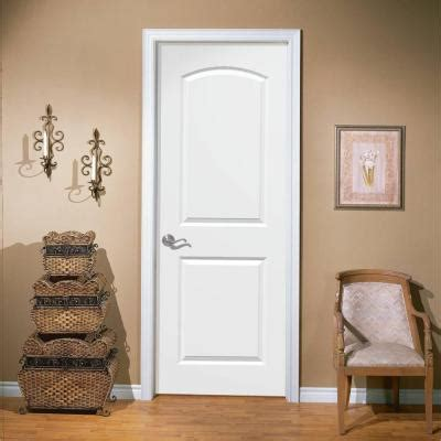 Home Depot 2 Panel Interior Doors by Masonite 30 In X 80 In Smooth 2 Panel Top