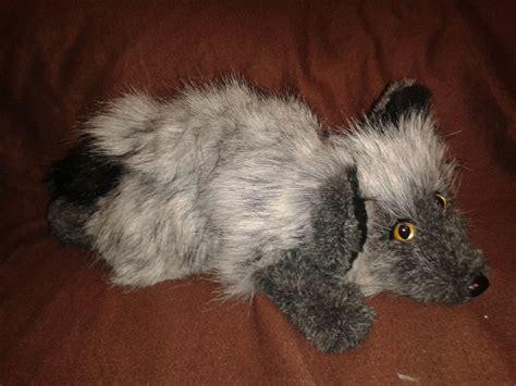 silver fox plush weasyl