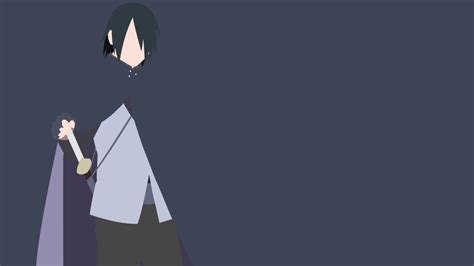 Sasuke Minimalist Wallpaper V2 By Obilityx