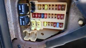 Dodge Durango 1998-2003 Fuse Box Location And Diagram