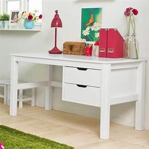Schreibtisch Höhenverstellbar Weiß : kinderschreibtisch in wei mit schubladen kids heaven ~ Markanthonyermac.com Haus und Dekorationen