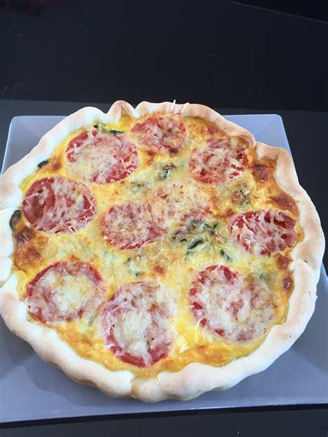 quiche avec pate brisee quiche bacon courgettes et tomates avec p 226 te bris 233 e l 233 g 232 re maison et sa cuisine