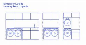 Laundry Room Layouts Dimensions  U0026 Drawings