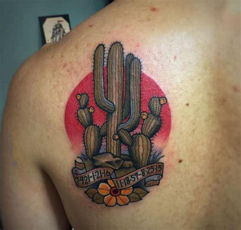 coolest cactus tattoos   exist tattooblend