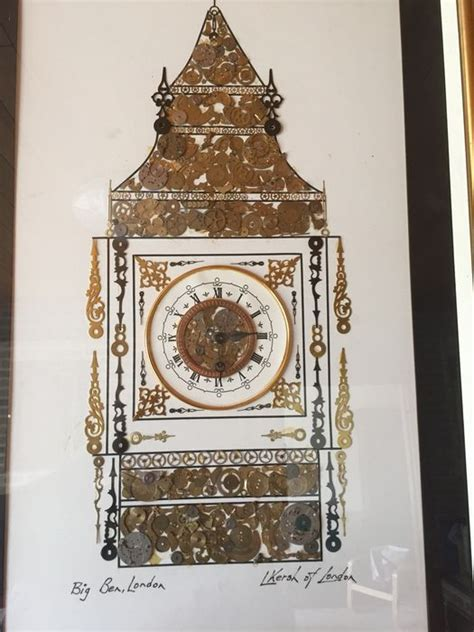 big ben clockwork big ben made of clockwork parts l kersh of londen catawiki