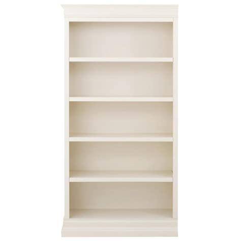 White Open Bookcase by Home Decorators Collection Anjou White Wash Open Bookcase