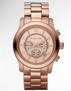 Michael Kors Mk5676 Ritz Gold-Toned Watch - For Women in ...