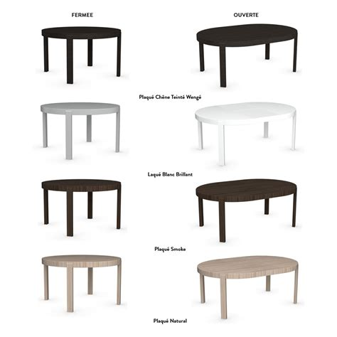 table de cuisine extensible table de repas ronde extensible atelier meubles et