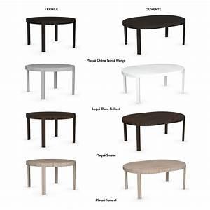 Table Ronde Extensible 10 Personnes : table de repas ronde extensible atelier meubles et atmosph re ~ Teatrodelosmanantiales.com Idées de Décoration