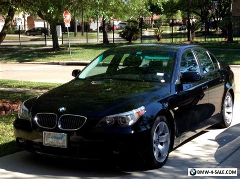 2007 Bmw 5-series E60 For Sale In United States