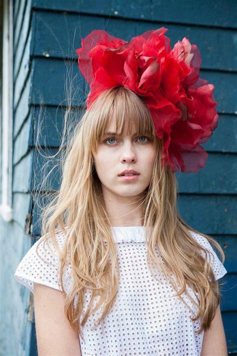 17 best ideas about floral fascinators on pinterest
