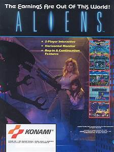 Equipment Tracker Aliens 1990 Arcade Game Xenopedia Fandom Powered By