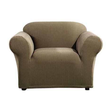 ticking stripe sofa slipcover stretch ticking stripe chair slipcover sure fit ebay
