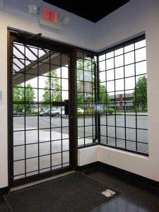 storefront window bars window bars store front windows window security bars