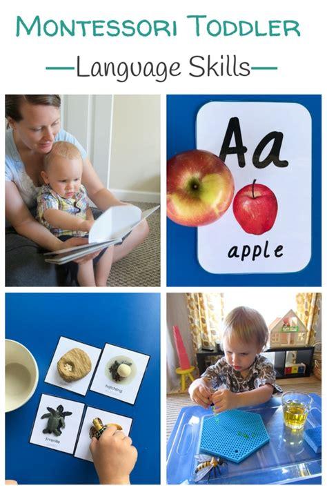 Montessori Toddler Language Skills To Use At Home