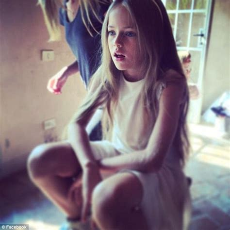 Kristina Pimenova, the child model dubbed 'the most beautiful girl in the world' | Daily Mail Online