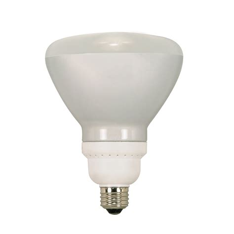 satco products s72 type cfl relfector fluorescent light