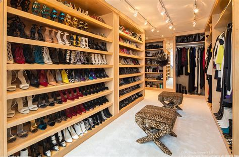 Top Celebrity Shoe Closets