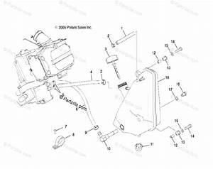 Polaris Atv 2008 Oem Parts Diagram For Engine  Oil System