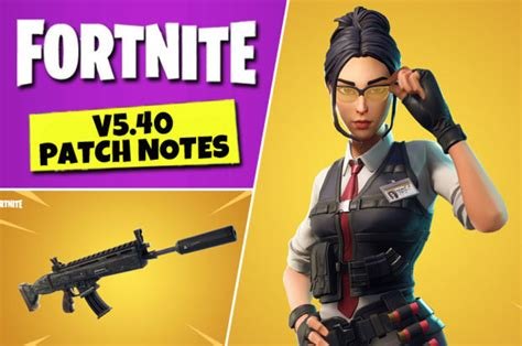 The fortnite 2.61 update patch notes have arrived, with epic games revealing what's in new update today (march 5) for pc, ps4, xbox one, and more. Fortnite 5.40 UPDATE: Patch Notes for PS4, Xbox, Switch ...