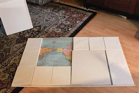 Diy Map Wall Art - Elitflat
