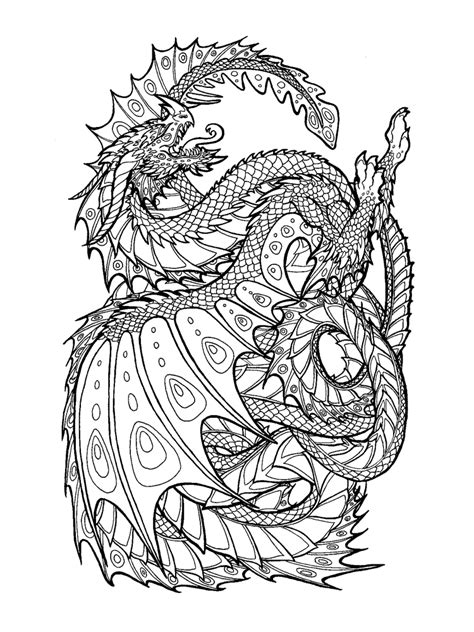 chinese dragon coloring pages  printable chinese dragon coloring pages