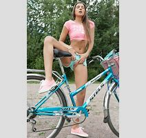 Maria Ryabushkina On Bicycle Erotic Photos Sexy Pics