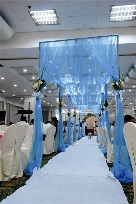blue white wedding theme landybridal   boutique