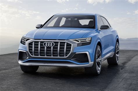 audi q8 suv review parkers