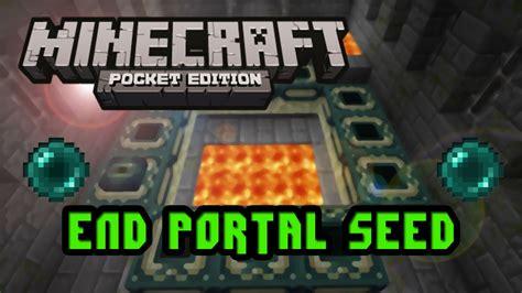 Insane End-portal Seed Minecraft Pe 2018