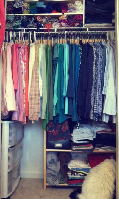 Closet Organization Ideas For Apartments by Realistic Closet Organization Ideas From Literate And