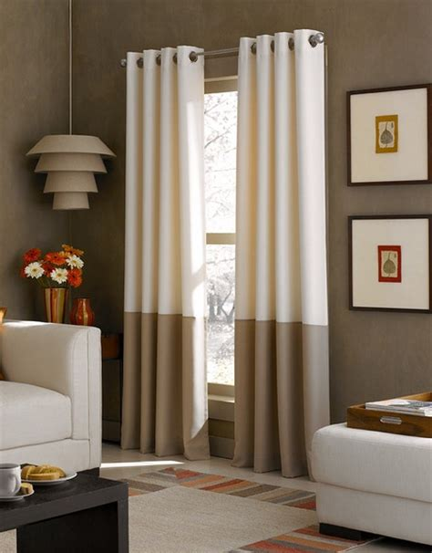 window treatments on modern windows bay