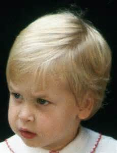 Prince William as a Toddler