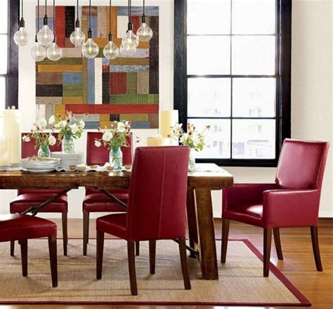 Rote Stühle Esszimmer by Esszimmer St 252 Hle Design Rot Esszimmer Room