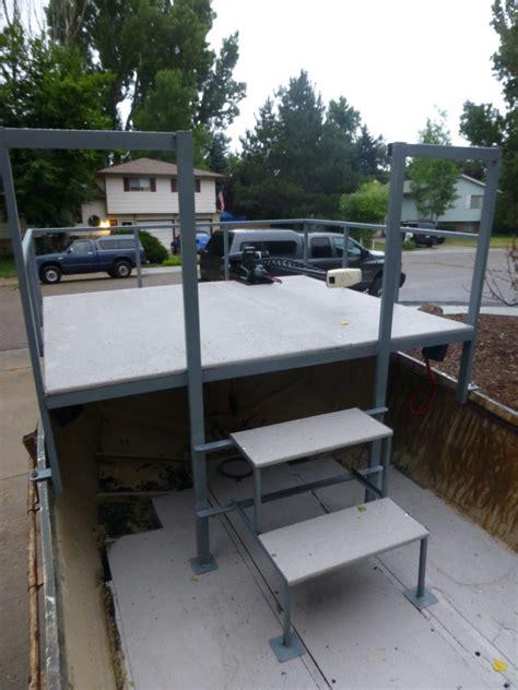 Diy Fishing Boat Deck by Bowfishing Boat Build Thin Air Outdoors