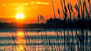 Sunset Lake Wallpapers