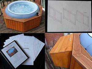 Hot Tub Lay Z Spa Quality Wooden Enclosure Plans Now With