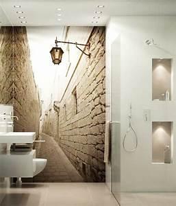 Tapete Für Badezimmer : bildergebnis f r g ste wc fototapete pinterest ~ Watch28wear.com Haus und Dekorationen