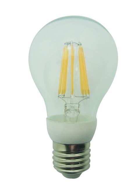 leditburn e27 led filament bulb 6 5 watt equals 60w a 720lm warm white 240v not dimmable