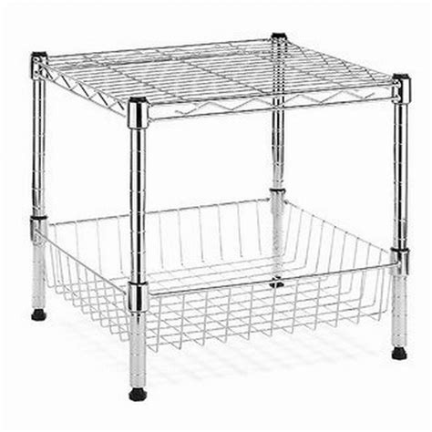 Stacking Shelf by Hdx Modular 14 75 In X 13 8 In Stacking Shelf With