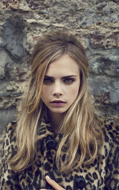 Cara Portrait Delevingne Woman Looking Supermodel Face