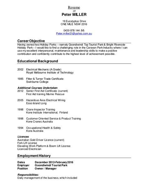 Sending Copy Resume by Resume Miller 2016 Resume Copy