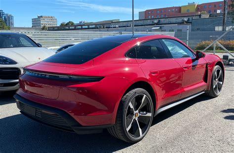 CARMINE RED Taycan Club   Page 7   Porsche Taycan Forum ...
